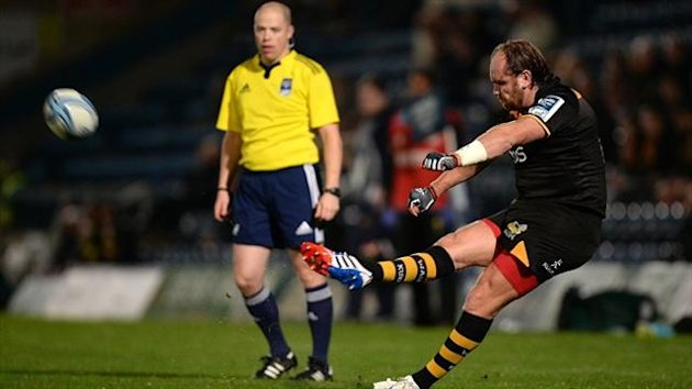 Andy Goode kicked 14 points for Wasps