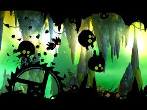 Badland adventure game
