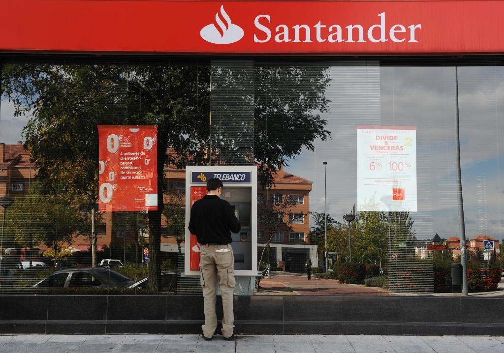 Santander's Q1 profits jump as Spanish economy recovers