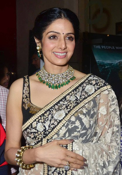 Sridevi enjoys &amp;#39;English Vinglish&amp;#39; success