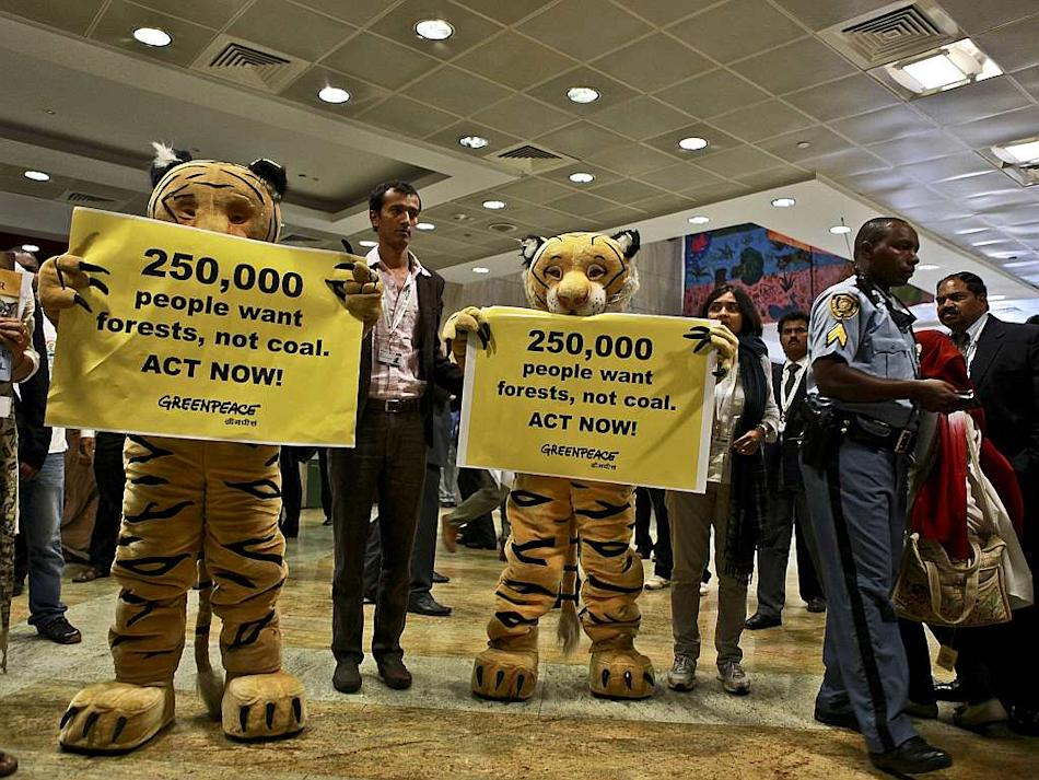 Travel Greenpeace Tiger Coal