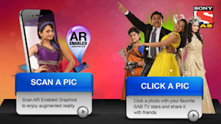 SAB Play – Augmented Reality Application From SAB TV image Screenshot 2013 02 19 03 21 58