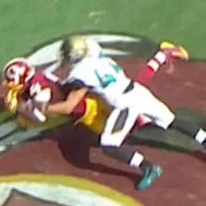 Washington Redskins tight end Niles Paul 2-yard touchdown catch
