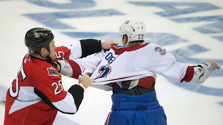 NHL: Stanley Cup Playoffs-Montreal Canadiens at Ottawa Senators