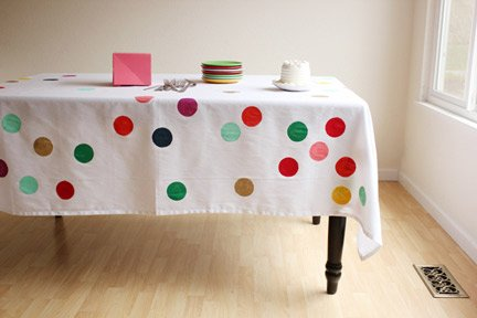 Confetti Tablecloth