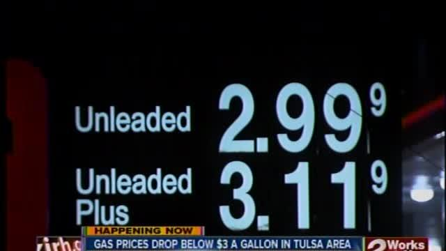 Local Gas Prices Drop Below $3