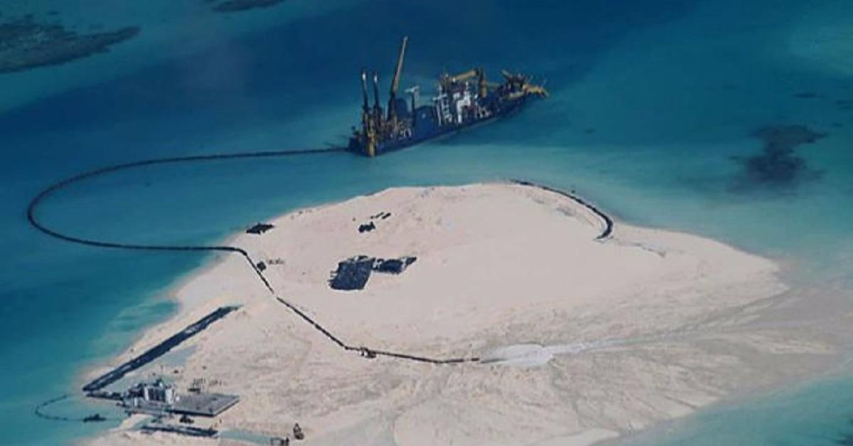 """China Expands Territory with """"Artificial Islands"""""""