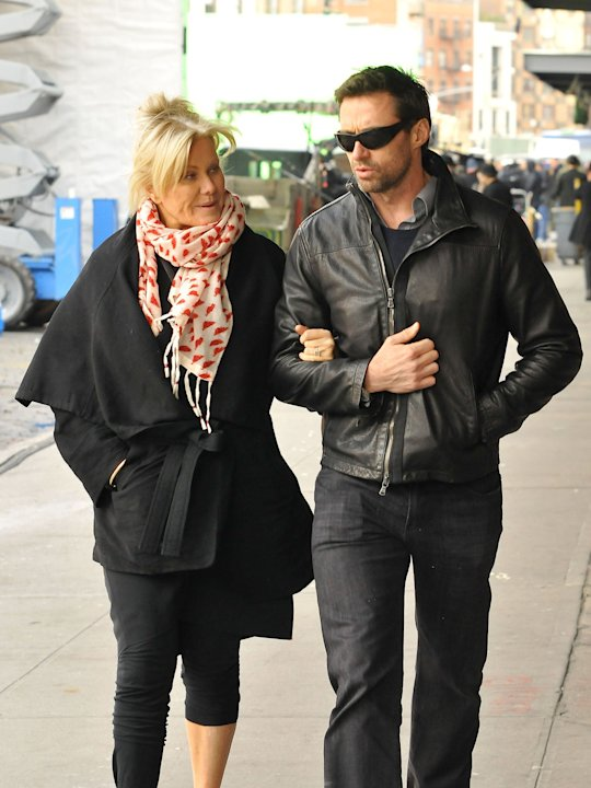Hugh Jackman and Deborra-Lee Hugh