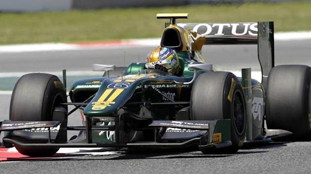 Esteban Gutierrez in GP2