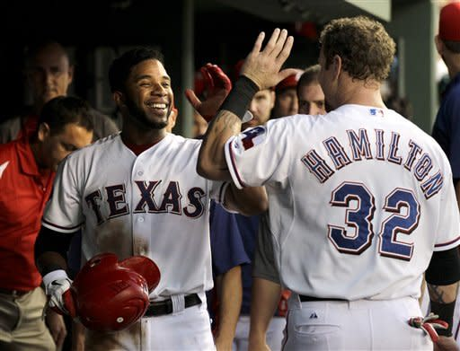 Beltre homers, drives in 4 as Rangers top Rays 6-5