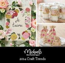 Michaels Forecasts 2014's Top Craft Trends
