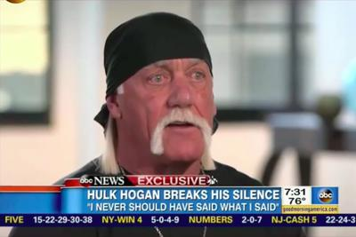 Weepy Hulk Hogan begs for forgiveness, says racist slurs were not actually racist