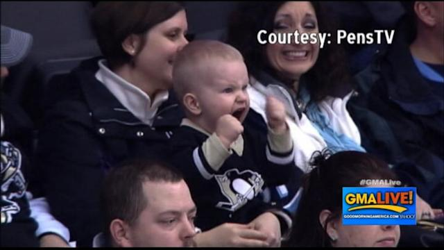 You'll Love This 2-Year-Old Super Fan