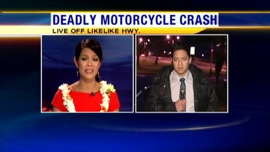 Driver dies in crash on Likelike Highway
