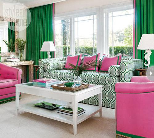 Adventures in interior design: Ricky Martin's Old $21M Home Has a Bright Pink Guesthouse