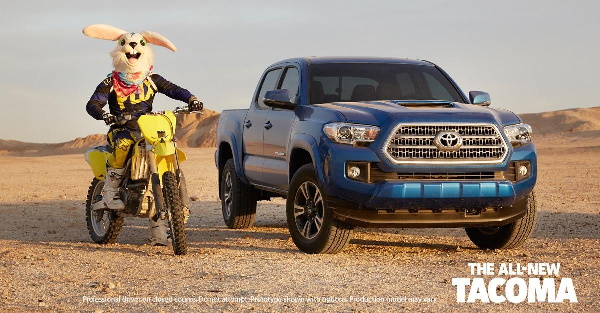 Get Ready to Play in the All-New Tacoma