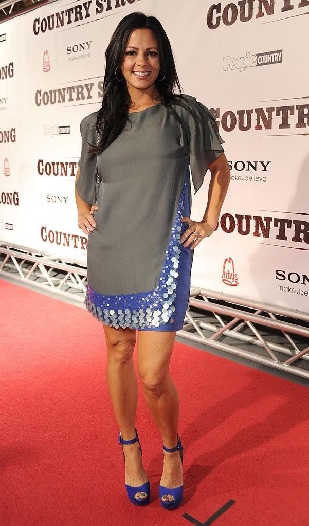 Country Strong Nashville Premiere 2010 Sara Evans