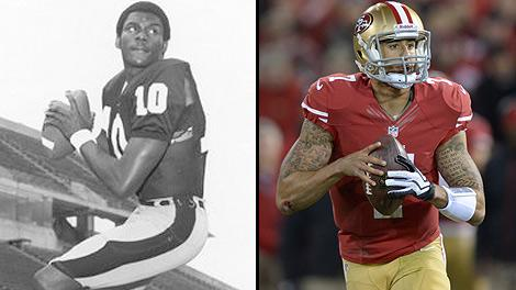 Reggie Collier and Colin Kaepernick