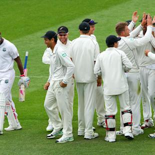 New Zealand take command against West Indies