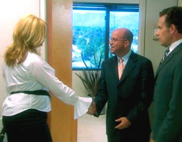 Kirstie Alley and NBC president Jeff Zucker Showtime's Fat Actress