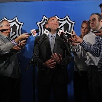 Bettman says another NHL lockout looms The Associated Press