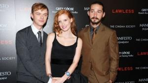 Shia LaBeouf and Jessica Chastain Sound Off at 'Lawless' NYC Premiere