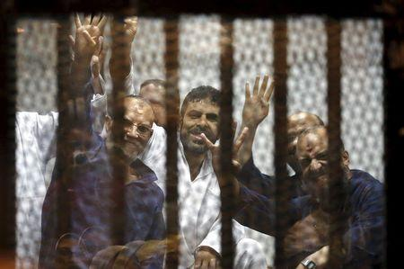 "Egypt's trial of Mursi ""badly flawed"": Human Rights Watch"