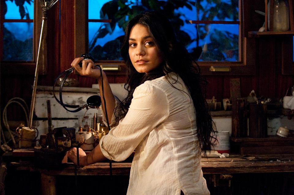 "In this image released by Warner Bros. Pictures, Vanessa Hudgens is shown in a scene from ""Journey 2: The Mysterious Island."" (AP Photo/Warner Bros. Pictures, Ron Phillips)"