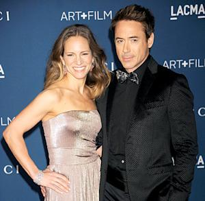 Robert Downey Jr.'s Wife Susan's 40th Birthday Bash Featured Bacon Cake, All-Star Guests