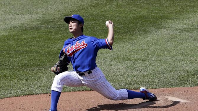 Wada throws 6 1-3 hitless innings as Cubs beat O's