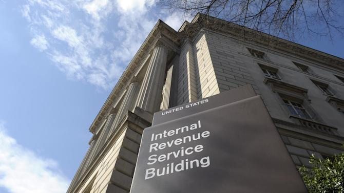 FILE - This March 22, 2013 file photo shows the exterior of the Internal Revenue Service building in Washington. Worried the Internal Revenue Service might target you for an audit? You probably should worry if you own a small business in one of the wealthy suburbs of Los Angeles. Or if you're a small business owner in one of dozens of communities near San Francisco, Houston, Atlanta or Washington. The IRS uses a secret computer program to identify potential tax cheats for audits, and researchers with access to the data say they have found large clusters of likely cheaters in these five metropolitan areas. (AP Photo/Susan Walsh, File)