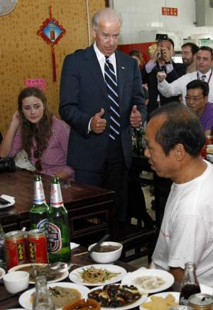Joe Biden's Visit to China Already Producing Bizarre Moments