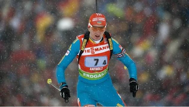 Biathlon - Pidhrushna wins maiden world title