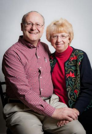 SIM missionary Nancy Writebol and her husband David are pictured in this undated handout photo