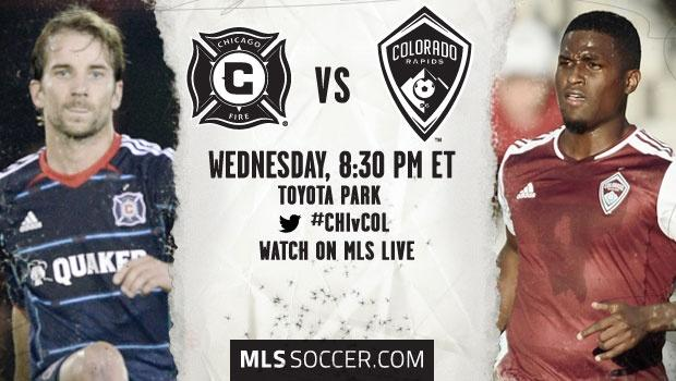 Chicago Fire vs. Colorado Rapids | MLS Match Preview