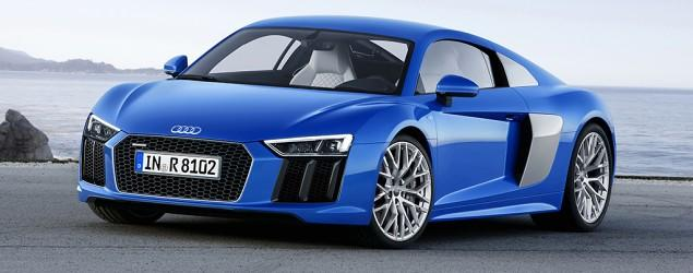 The 2016 R8: Audi's fastest production car ever
