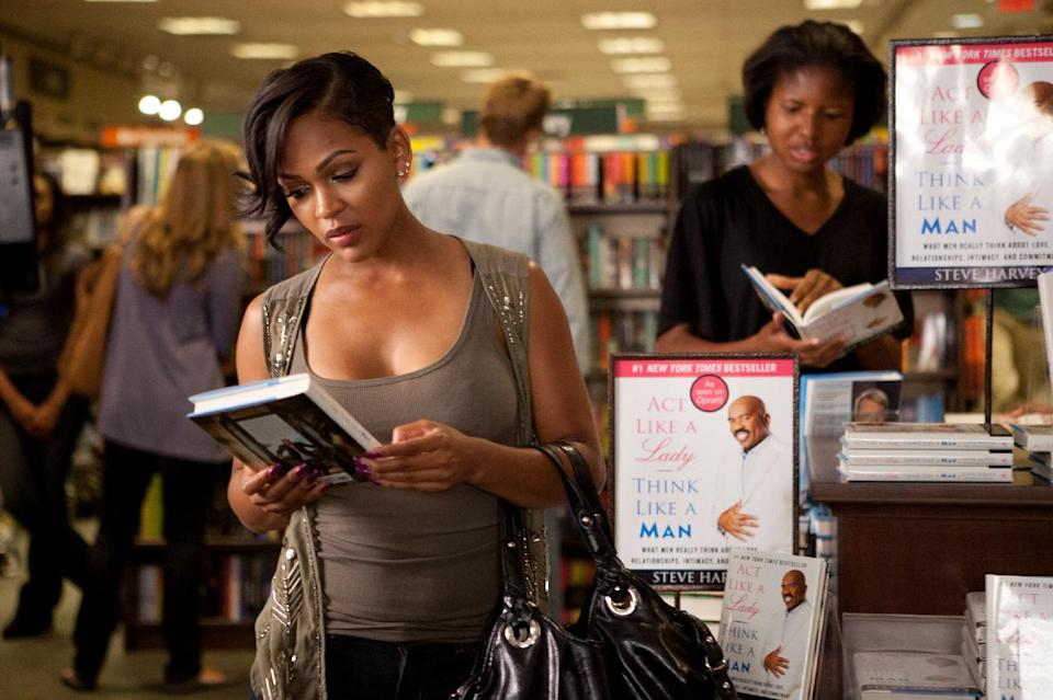 "In this film image released by Sony Pictures - Screen Gems, Meagan Good is shown in a scene from ""Think Like a Man."" (AP Photo/Sony Pictures-Screen Gems, Alan Markfield)"