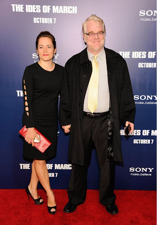 The ides of March 2011 NY Premiere Philip Seymour Hoffman