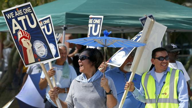 Buses run again in East Valley after 4-day strike