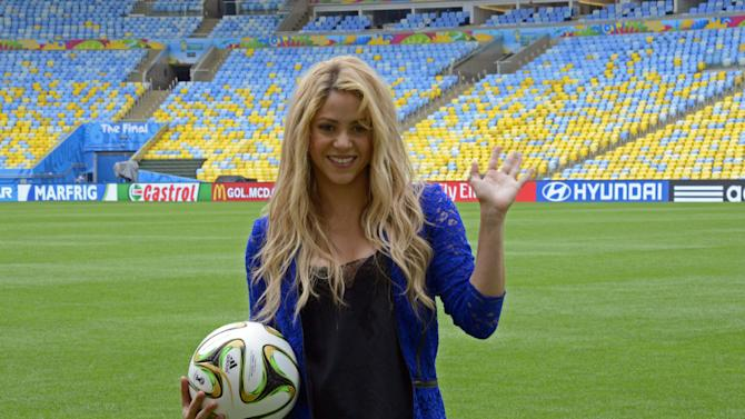 Colombia singer Shakira recently performed at the closing ceremony of the 2014 Brazil World Cup