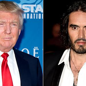 New Twitter Feud Erupts Between Donald Trump and Russell Brand