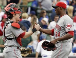 Aroldis Chapman shuts down Cub as Reds win 10-8