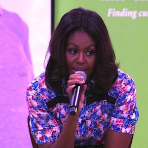 Michelle Obama talks Beyonce, family dogs Bo and Sunny