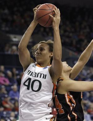 Johnson leads Miami over Idaho State 70-41
