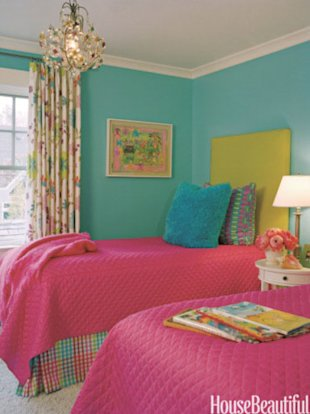 Bright and Colorful Bedroom