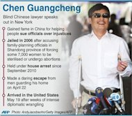 The United States and China worked together on releasing Chinese activist Chen Guangcheng because they have built up a good level of trust, US Secretary of State Hillary Clinton said