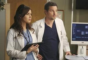 Camilla Luddington and Justin Chambers | Photo Credits: Richard Cartwright/ABC
