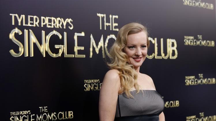 "Cast member McLendon-Covey poses at the premiere of ""The Single Moms Club"" in Los Angeles"