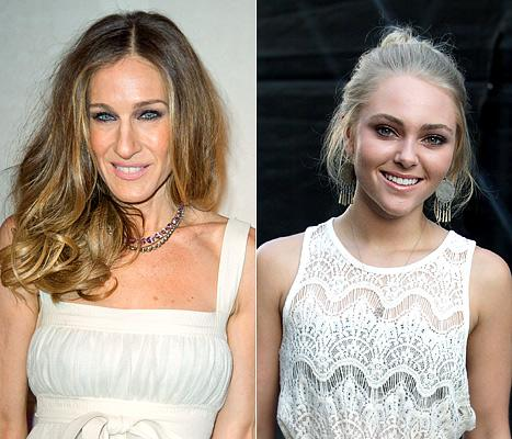 "Sarah Jessica Parker Reaches Out to ""Young Carrie Bradshaw"" AnnaSophia Robb"
