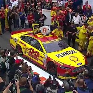 Logano: \x{2018}I thought we gave it away'